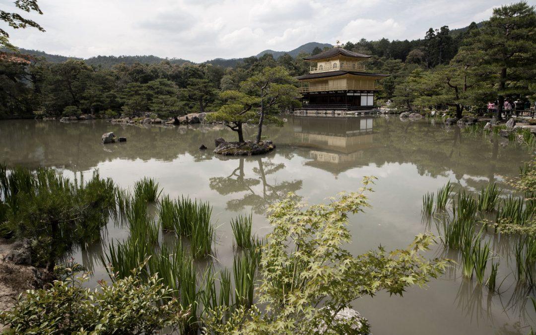 Le temple d'or à Kyoto, Kinkaku-ji