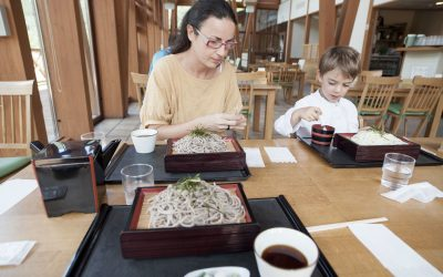 Plat traditionnel japonais d'été : les zaru soba