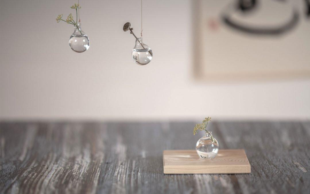 Kazuaki Mizuhara: créateur de vases en verre soufflé
