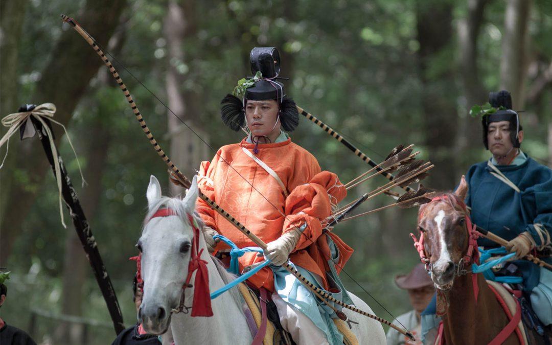 Mai : festival de la rose trémière à Kyoto