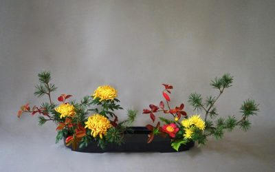 Fleurs et plantes Ikebana : saisons et symboles